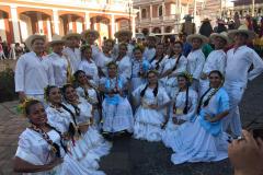 Grupo de danza Jadelí